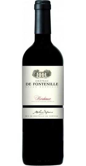 """Вино """"Chateau de Fontenille"""" Rouge, Bordeaux AOC, 2016, 0.75 л"""