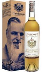 "Виски ""Thompson's"" Speyside Blended Malt Scotch Whisky, gift box, 0.7 л"