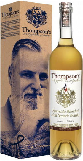 "Виски ""Thompson's"" Speyside Blended Malt Scotch Whisky, gift box, 0.7 л"