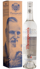"Водка ""Tompson's"" Grape Vodka, gift box, 0.7 л"