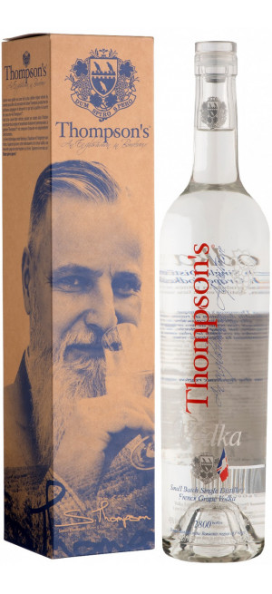 "Водка ""Tompson's"" Grape Vodka, gift box, 0.7 л"