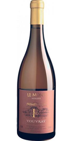 """Вино Domaine Huet, """"Le Mont Premiere Trie"""", Vouvray AOC, 2016, 0.75 л"""