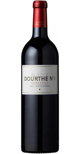"""Вино """"Dourthe №1"""" Merlot-Cabernet Sauvignon, Bordeaux AOC, 2015,1.5 л"""