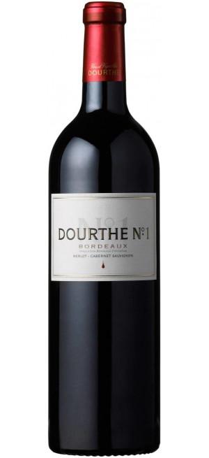 """Вино """"Dourthe №1"""" Merlot-Cabernet Sauvignon, Bordeaux AOC, 0,375 л"""