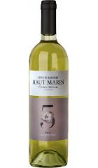"Вино Haut Marin, ""Perle"" Sauvignon Blanc, Cotes de Gascogne IGP, 0.75 л"