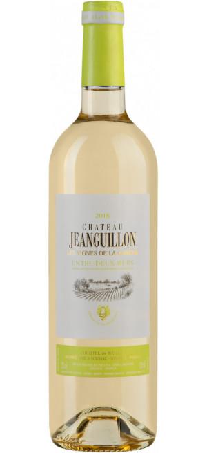 Вино Chateau Jeanguillon Les Vignes de la Garene, Entre-Deux-Mers AOC, 0.75 л