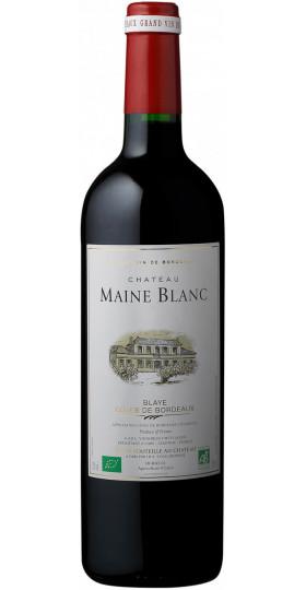 Вино Chateau Maine Blanc Bio Blaye, Сotes de Bordeaux AOС, 0.75 л