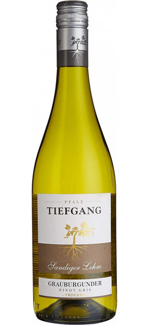 "Вино ""Tiefgang"" Grauburgunder Sandiger Lehm, 0.75 л"