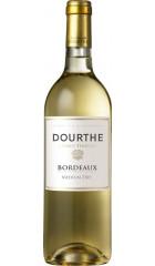 "Вино Dourthe, ""Grands Terroirs"" Bordeaux Blanc Dry, 2018, 0.75 л"