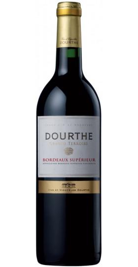 """Вино Dourthe, """"Grands Terroirs"""" Bordeaux Superieur, 2018, 0.75 л"""