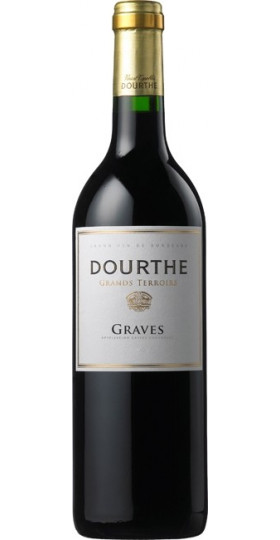 "Вино Dourthe, ""Grands Terroirs"" Graves, Rouge, 0.75 л"