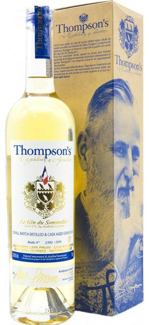"""Джин """"Thompson's"""" Le Gin du Sommelier, gift box, 0.7 л"""
