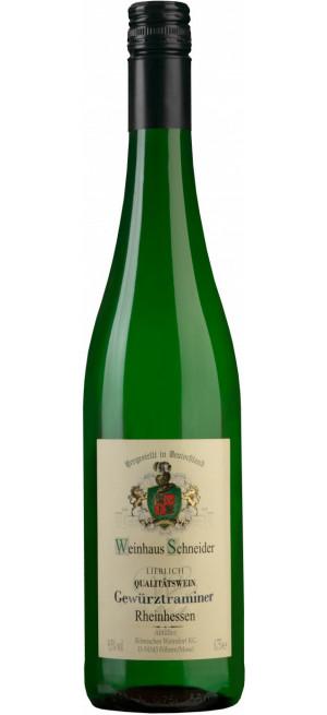 """Вино """"Weinhaus Schneider"""" Gewurztraminer, 0.75 л"""