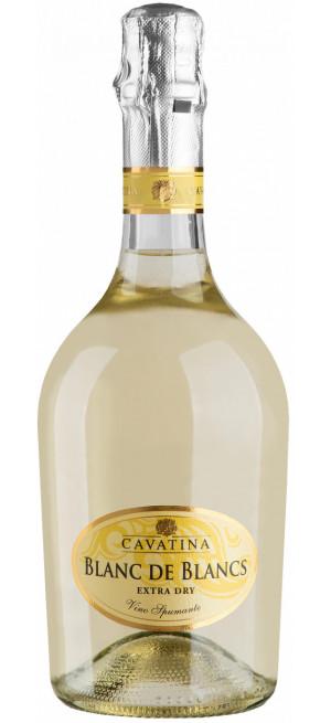 "Игристое вино ""Cavatina"" Blanc de Blancs Extra Dry, bottle ""Atmosphere"", 0.75 л"