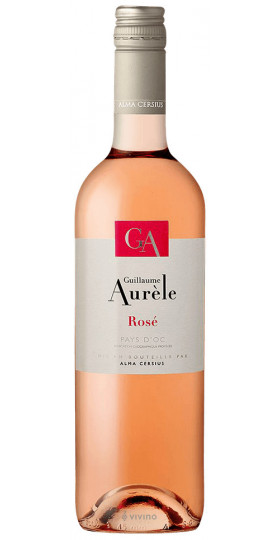"Вино ""Guillaume Aurele"" Rose, Pays d'Oc IGP, 0.75 л"