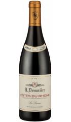 Вино J. Denuziere, Cotes du Rhone AOC, 2017, 0.75 Л