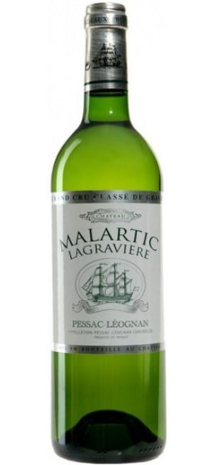 "Вино ""Chateau Malartic Lagraviere"" Blanc, Pessac Leognan Grand Cru Classe de Graves, 2007, 0.75 л"