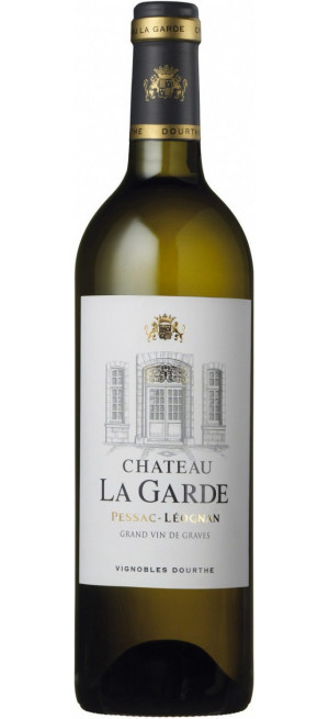 "Вино ""Chateau La Garde"" Blanc, Pessac-Leognan AOC, 2014, 0.75 л"