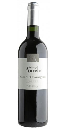 """Вино """"Guillaume Aurele"""" Cabernet Sauvignon, Pays d'Oc IGP, 0.75 л"""