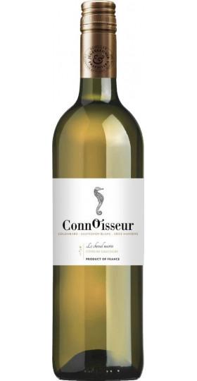 """Вино Connoisseur, """"Le Cheval Marin"""" Colombard-Sauvignon-Gros Manseng, Cotes de Gascogne IGP, 2018, 0.75 л"""