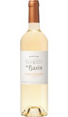 """Вино """"Domaine de Bazin"""" Doux, Cotes de Gascogne IGP, 0.75 л"""