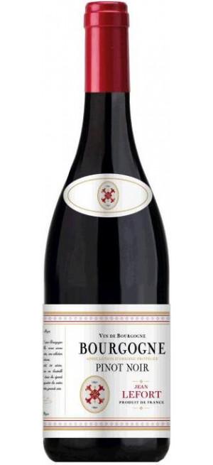 Вино Jean Lefort, Bourgogne Pinot Noir AOP, 2018, 0.75 л