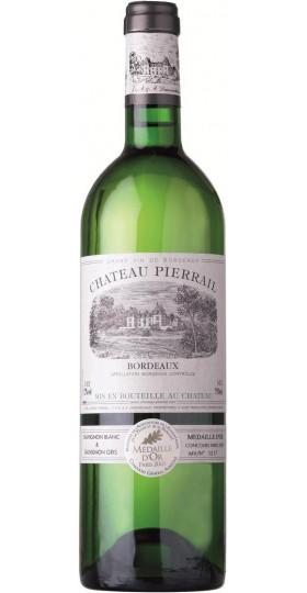 """Вино """"Chateau Pierrail"""" Blanc, Bordeaux AOC, 2016, 0.75 л"""