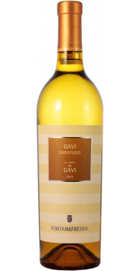 Вино Fontanafredda, Gavi del Comune di Gavi DOCG, 2018, 0.75 л