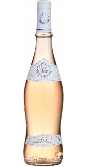 "Вино Chateau Saint-Pierre, ""Tradition"" Cotes de Provence AOC Rose, 2019, 0.75 л"