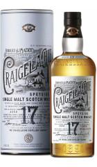 "Виски ""Craigellachie"" 17 Years Old, in tube, 0.7 л"