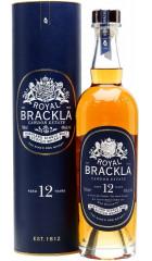 """Виски """"Royal Brackla"""" 12 Years Old, in tube, 0.7 л"""