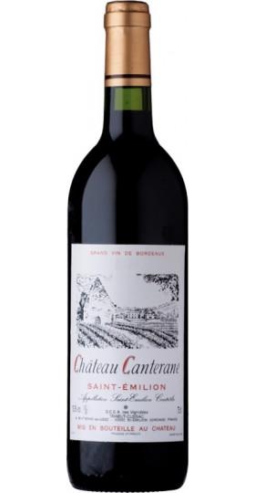 Вино Chateau Canterane, Saint-Emilion AOC, 2016, 0.75 л