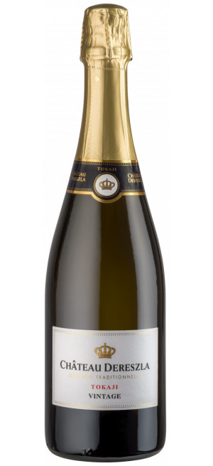 "Игристое вино Chateau Dereszla, Tokaji Vintage Brut ""Methode Traditionnelle"", 0.75 л"