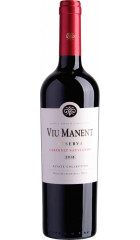 "Вино Viu Manent, ""Estate Collection"" Reserva Cabernet Sauvignon, 2018, 0.75 л"