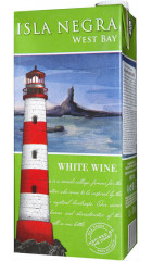 "Вино Isla Negra, ""West Bay"" White, Tetra Pak, 1 л"