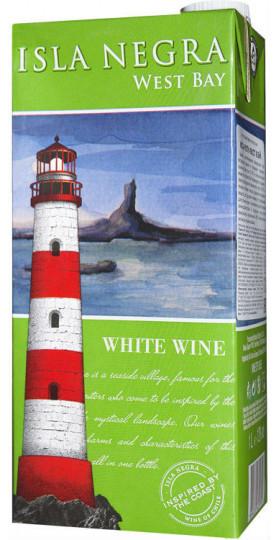 "Вино Isla Negra, ""West Bay"" White, Tetra Pak, 1 л"