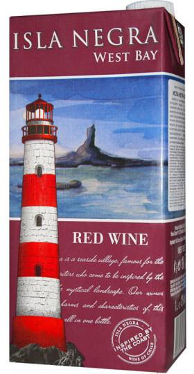 "Вино Isla Negra, ""West Bay"" Red, Tetra Pak, 1 л"