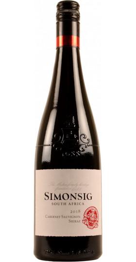 Вино Simonsig, Cabernet Sauvignon-Shiraz, 2018, 0.75 л