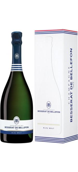 """Шампанское Besserat de Bellefon, """"Cuvee des Moines"""" Brut, gift box, 0.75 л"""