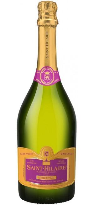 """Игристое вино """"Saint-Hilaire"""" Semi-Sweet, Blanquette de Limoux AOC, 0.75 л"""