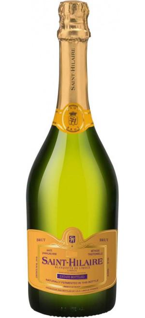 """Игристое вино """"Saint-Hilaire"""" Brut, Blanquette de Limoux AOC, 0.75 л"""