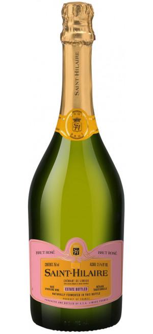 """Игристое вино """"Saint-Hilaire"""" Rose Brut, Cremant de Limoux AOC, 0.75 л"""