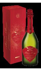"""Игристое вино Sieur d'Arques, """"Blason Rouge"""" Cremant Brut, Limoux AOC, gift box, 0.75 л"""