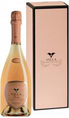 "Игристое вино Villa Franciacorta, ""Boke"" Rose Brut, Franciacorta DOCG, 2014, gift box, 0.75 л"