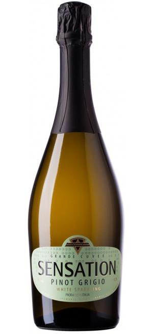 """Игристое вино """"Sensation"""" Pinot Grigio, 0.75 л"""