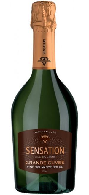 """Игристое вино """"Sensation"""" Grande Cuvee, 0.75 л"""