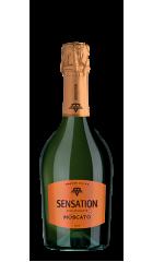 """Игристое вино """"Sensation"""" Spumante Moscato, 0.75 л"""