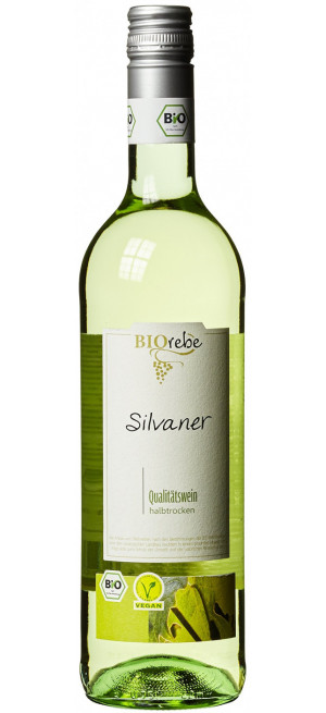 "Вино ""BIOrebe"" Silvaner, 2019, 0.75 л"