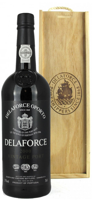 "Портвейн ""Delaforce"" Vintage Port, 2000, 0.75 л"