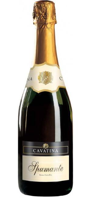 """Игристое вино """"Cavatina"""" Spumante Bianco Dry, 0.75 л"""